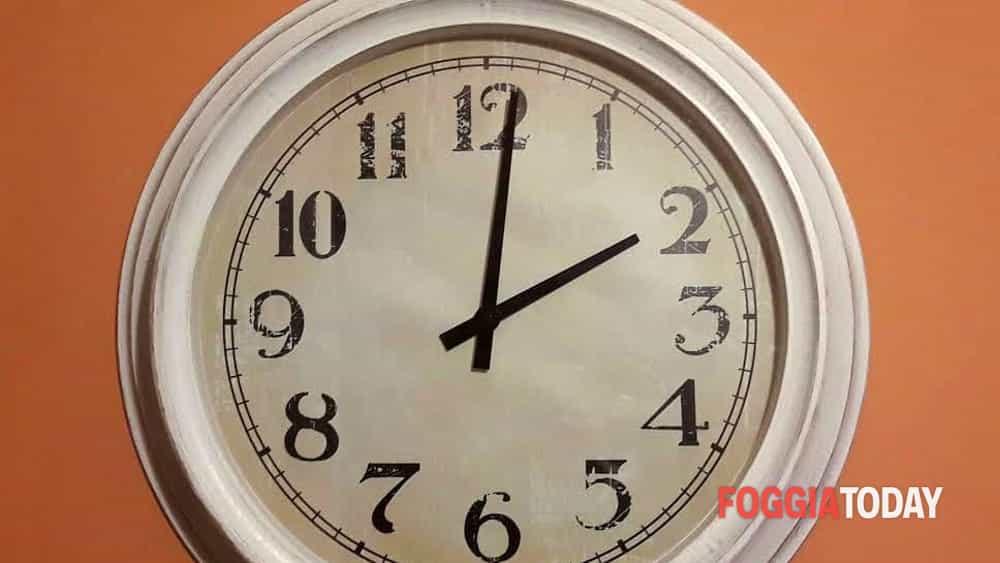 Ora legale 25 26 marzo 2017 lancette orologio avanti di for Ora legale 2017 marzo